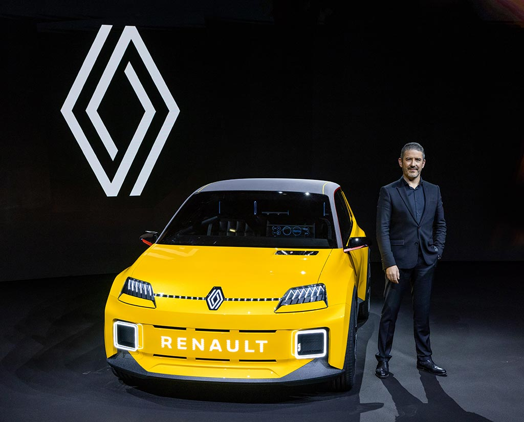 Renault 5 Prototype et Gilles Vidal - 2021