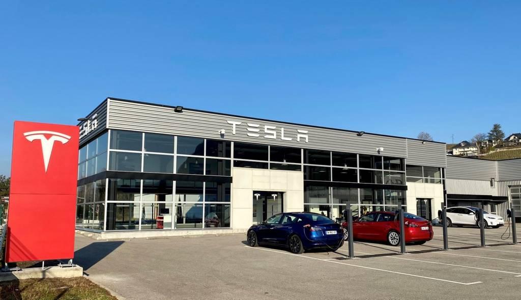 Centre Tesla Chambery - Janvier 2021 - Tesla