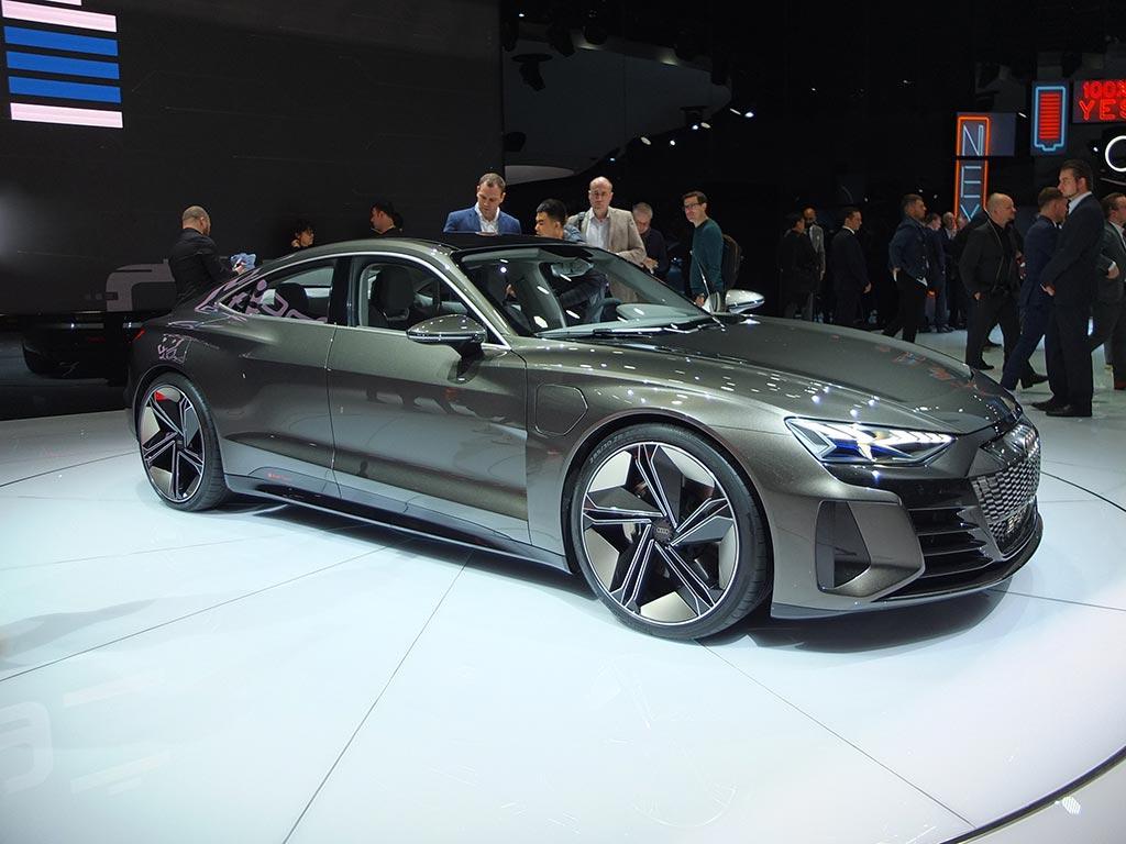Audi e-tron GT gims 2019