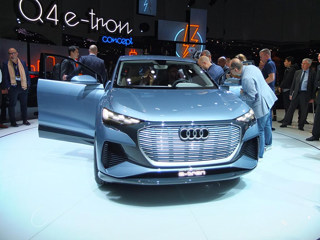 Audi q4 e-tron gims 2019