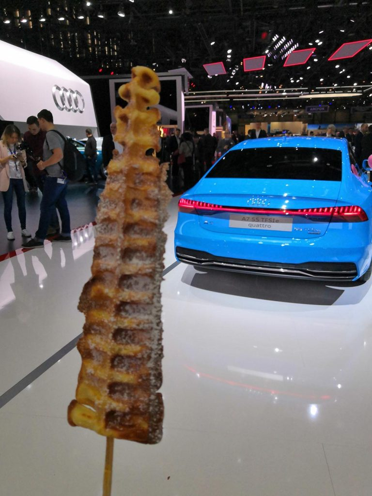 Audi stand gims 2019