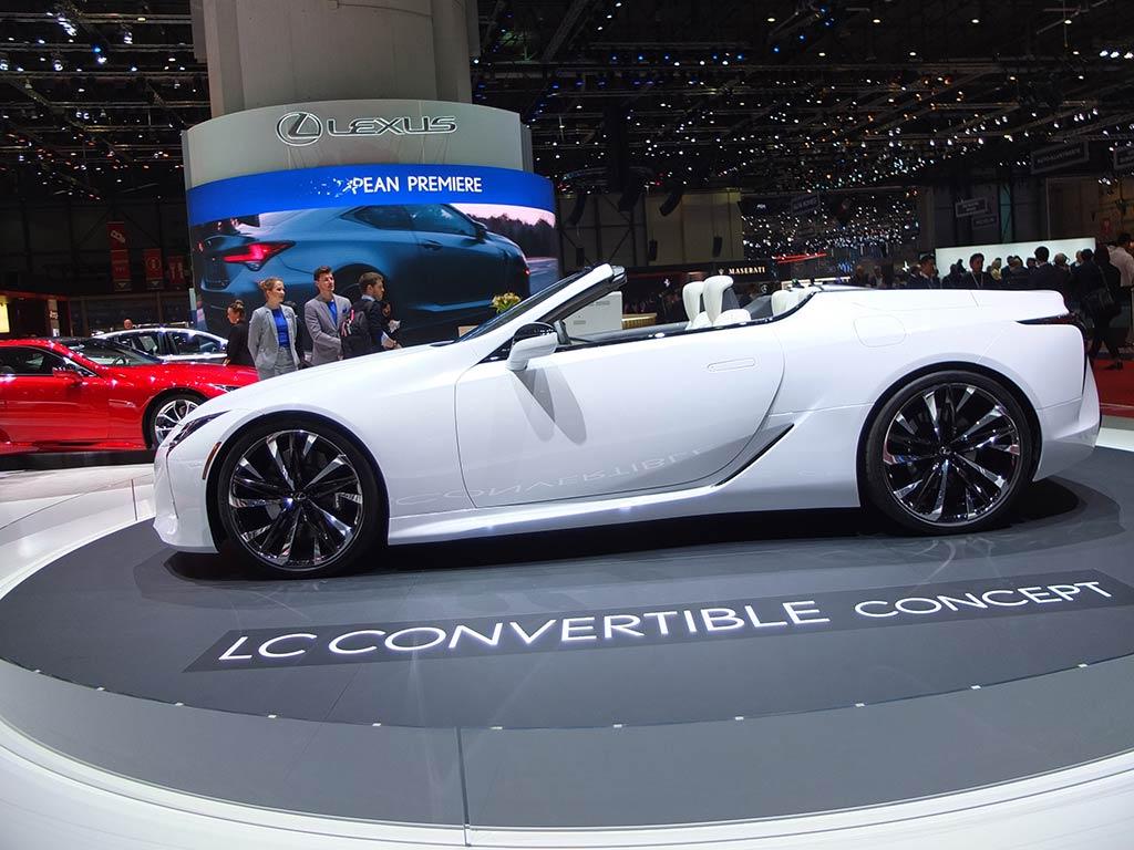 lexus lc convertible - gims 2019
