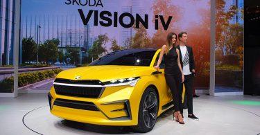 Skoda vision iV - gims 2019