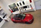 Tesla service center chambourcy