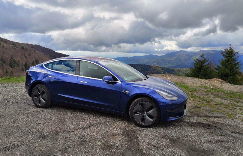 Essai de la Tesla Model 3 Grande Autonomie