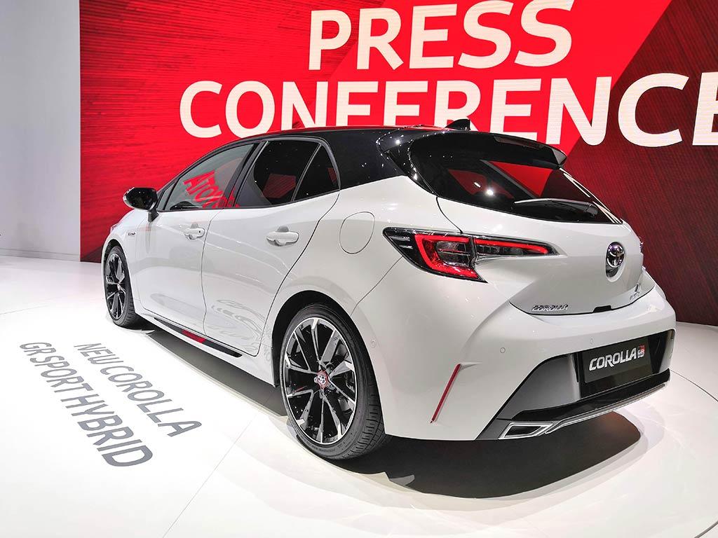Toyota corolla gr sport hybrid - gims 2019