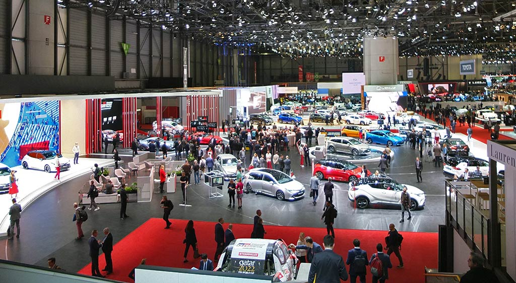 stand toyota - gims 2019