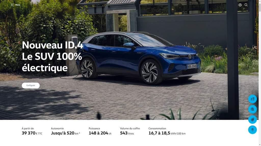id4 autonomie max 520km