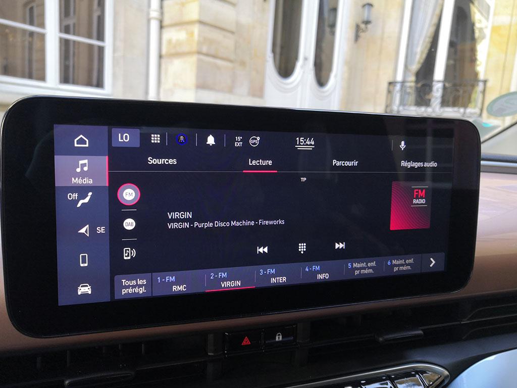 """Fiat 500e électrique - écran 10.25"""""""