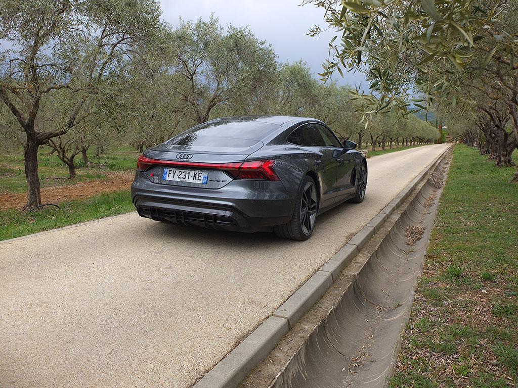 Essai Audi RS e-tron GT