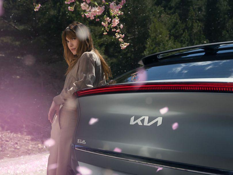 Kia EV6 publicité